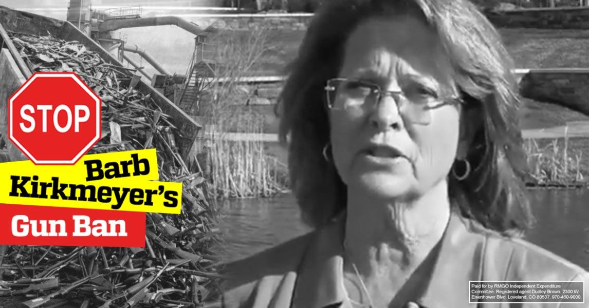 Stop Barb Kirkmeyer's Gun Ban!